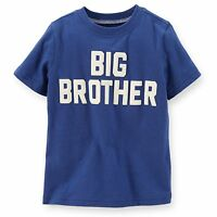 big Brother Baby Boys Brother Graphic Shirt 2t 3t 4t 5t Gift Blue Ss