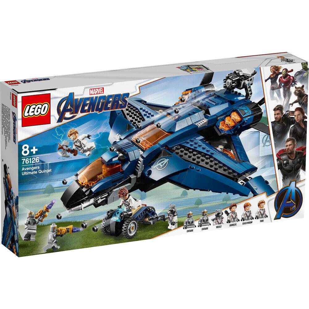 Lego Marvel Avengers Ultimate Quinjet Building Set - 76126 76126 76126 a46b06