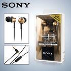 SONY MDR-EX650AP Brown In-Ear Earphones Headphones iPhone 5 6 Plus Mic Remote