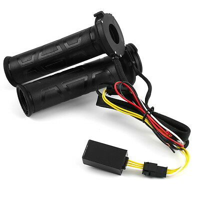 Motorcycle 22.5mm Electric Hand Heated Molded Grips ATV Warmers Hot Handlebar 2Y