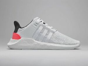 differently bb0e3 023ff Details about Adidas EQT SUPPORT 93/17 White Black Turbo Red Size 11.  BA7473 Ultra Boost yeezy