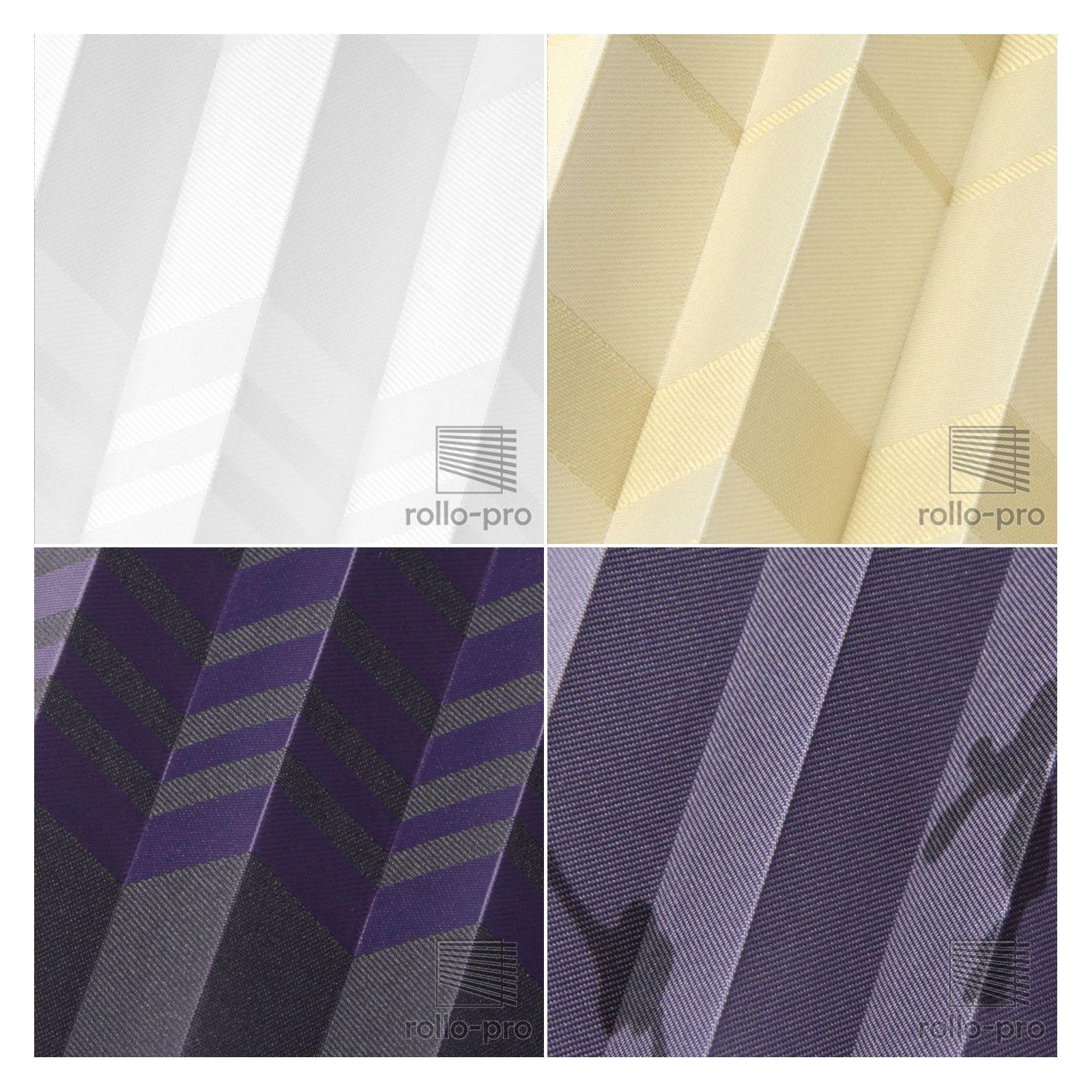 Plissé sur mesure ☆ faltrollo sans percer Klemmfix ☆ Designo profil ☆ profil Designo noir NEUF! 07e447