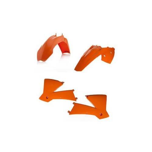 Set Plastics KTM EXC SX 125 200 250 300 EXC F 250 400 450 SX 2004 Sxf 450 525