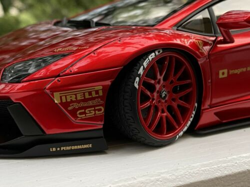 Autoart 1:18 Lamborghini Aventador lb-Works #79109 by Raceface-modelcars