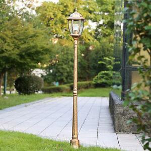 Vintage lantern bronze outdoorgarden lamp post light driveway yard image is loading vintage lantern bronze outdoorgarden lamp post light driveway aloadofball Image collections