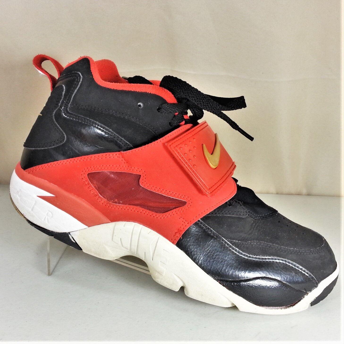 NIKE 309434-009 Air Diamond Turf Deion Sanders Mens Athletic shoes Size 9.5