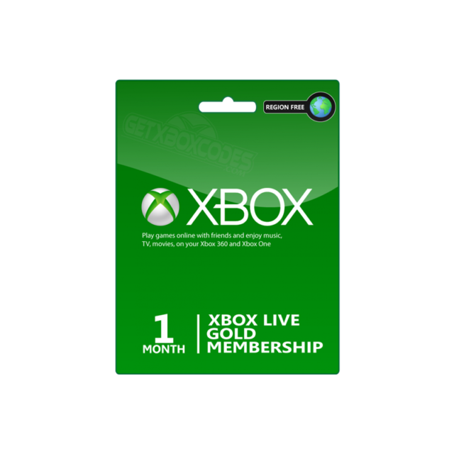 Xbox Live 1 Month Gold Membership (2x14 Day Trial) EMAIL DELIVERY
