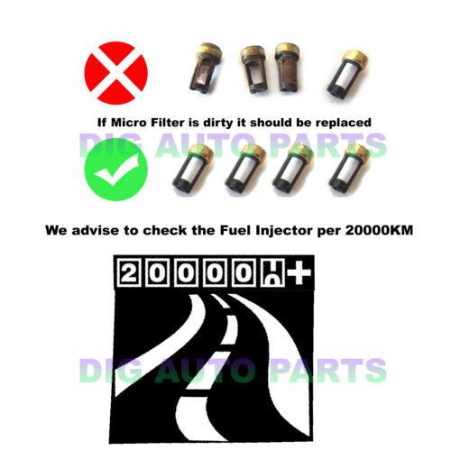 4x Fuel Injector Repair Kit For Nissan Sentra Cube Versa NV200 16600EN200