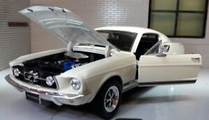Image Is Loading Ford Mustang 1967 GT Fastback 1 24 Scale