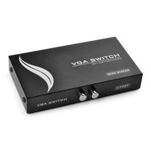 Computer & Büro Angemessen 2 Port Für Tastatur Maus Monitor Adapter Usb 2.0 Kvm Schalter Switcher 1920*1440 Vga Svga Schalter Splitter Box Hohe Qualität Computer-peripheriegeräte