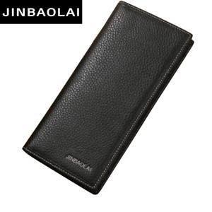 c06401ac4058 Details about New Long Bifold Men Genuine Leather Wallet Clutch Slim Purse  Fashion Coin Pocket