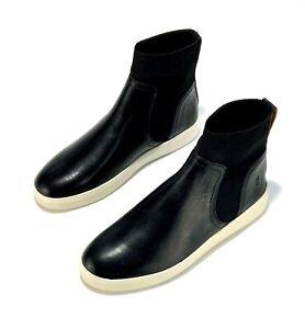 frye women's leather sneakers