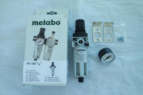 Metabo Filterregler FR-180 1//4 Filter-Regler