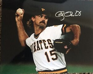 DOUG-DRABEK-PITTSBURGH-PIRATES-1990-NL-CY-ACTION-SIGNED-8x10-Gdst-Holo