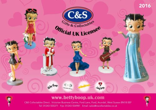 Betty Boop Magnetic Salt and Pepper Pots various designs.