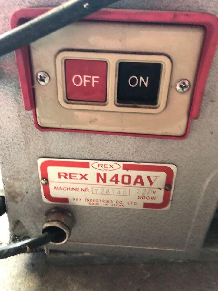GEVINDSKÆRE maskine, REX N40AV