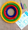 DIY Scarf knitting Item Tool Hat Circular Knitting Looms Round Loom Accessories