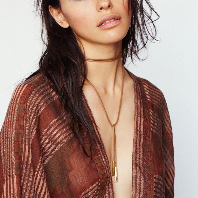 New Arrival Fashion Charm Bohemia Sexy Leather Choker Necklace Jewelry