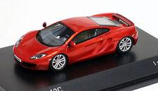 Minichamps 1/87 HO 2012 McLaren 12C Metallic Orange  877133020  US SELLER
