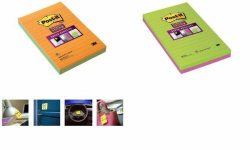 Post-it Haftnotizen Super Sticky Notes 102 x 152 mm
