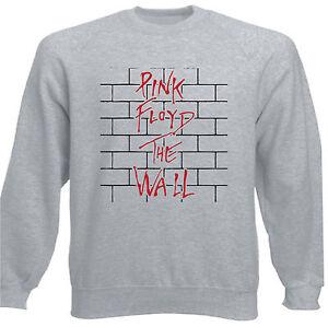 Art T-shirt Nero Felpa Raglan Pink Floyd The Wall Firma