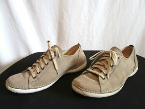 2346c1f7a98 Weinbrenner Tan Brown Leather Lace Up Oxford Fashion Sneakers Women ...