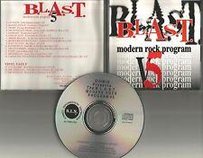 RARE TRX PROMO CD STRAY CATS brian Setzer SUZI QUATRO Revillos & Massive Attack