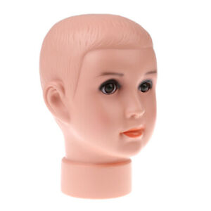 8 '' Foam Mannequin Baby Head Exhibitors For Commercial Store Decoration