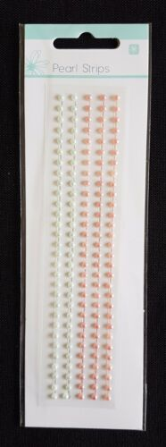 Kaisercraft Adhesive Rhinestone or Pearl Strips REDUCED TO CLEAR!