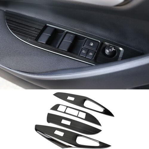 For 2019-2020 Toyota Corolla black titanium Window lift panel switch cover trim