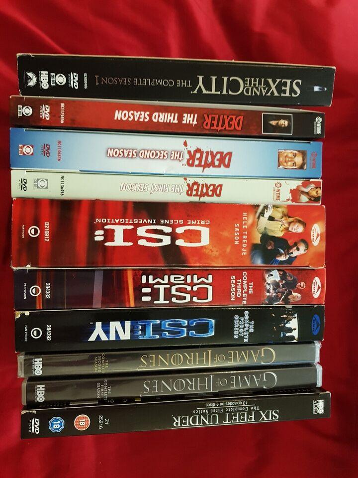 DVD, TV-serier