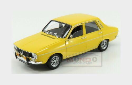 Renault R12 Ts 1973 Yellow NOREV 1:18 NV185212 Model