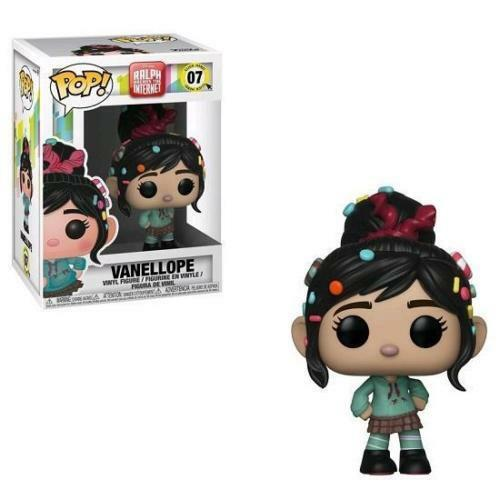 Disney Ralph Breaks The Internet Venellope 9.5cm Pop Vinyl Figura Funko 07