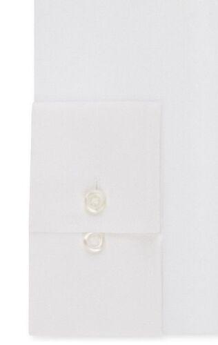 $95 VAN HEUSEN Men/'s REGULAR-FIT WHITE LONG-SLEEVE BUTTON DRESS SHIRT 16 34//35 L