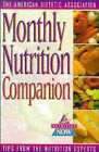 Monthyl Nutrition Companion by ADA (American Dietetic Association) (Paperback, 1997)