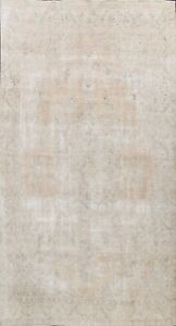 Muted-Vintage-Distressed-Evenly-Low-Pile-Area-Rug-Hand-knotted-Wool-Carpet-9x13