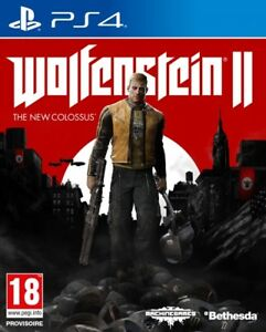 WOLFENSTEIN-II-the-new-colossus-pour-console-PS-4-neuf
