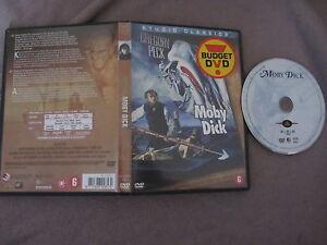 Moby-Dick-de-John-Huston-avec-Gregory-Peck-DVD-Aventure-RARE
