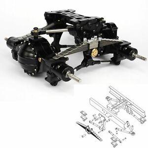 Lesu-X-8002-A-Eje-Metal-Suspension-Trasera-Juego-Para-1-14-Tamiya-RC-Camion-Tractor