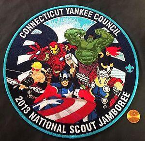 MARVEL CONNECTICUT YANKEE COUNCIL 2017 OA OWANECO 313 2013 JAMBOREE BLACK WIDOW
