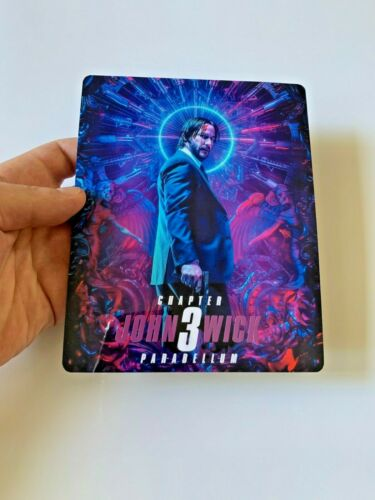 Chapter 3 Magnet cover for Steelbook John Wick NO LENTICULAR