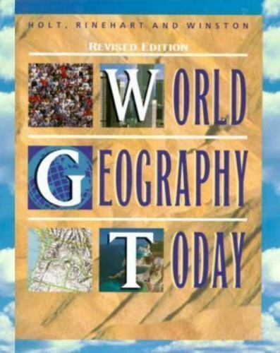 World Geography Today By David M Helgren 1998 Hardcover Revised Student Edition Of Textbook For Sale Online EBay