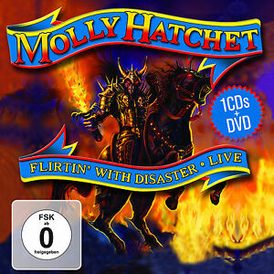 cd dvd molly hatchet live flirtin 39 with disaster cd und. Black Bedroom Furniture Sets. Home Design Ideas