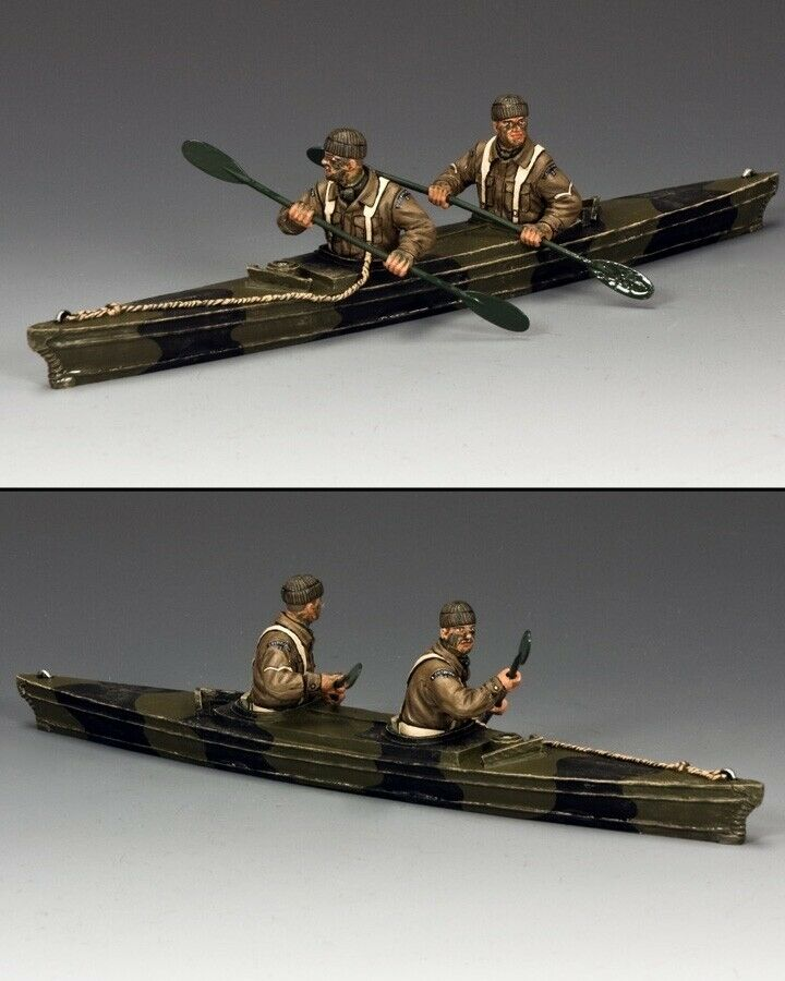 KING AND COUNTRY  Paddling Into Battle  D Day WW2 DD238