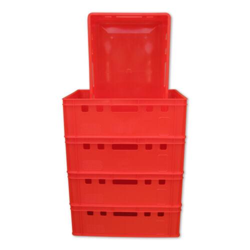 5 x E2-Kiste Stapelbox Kunststoffbehälter Box Kiste Eurokiste Eurobox Lagerbox.