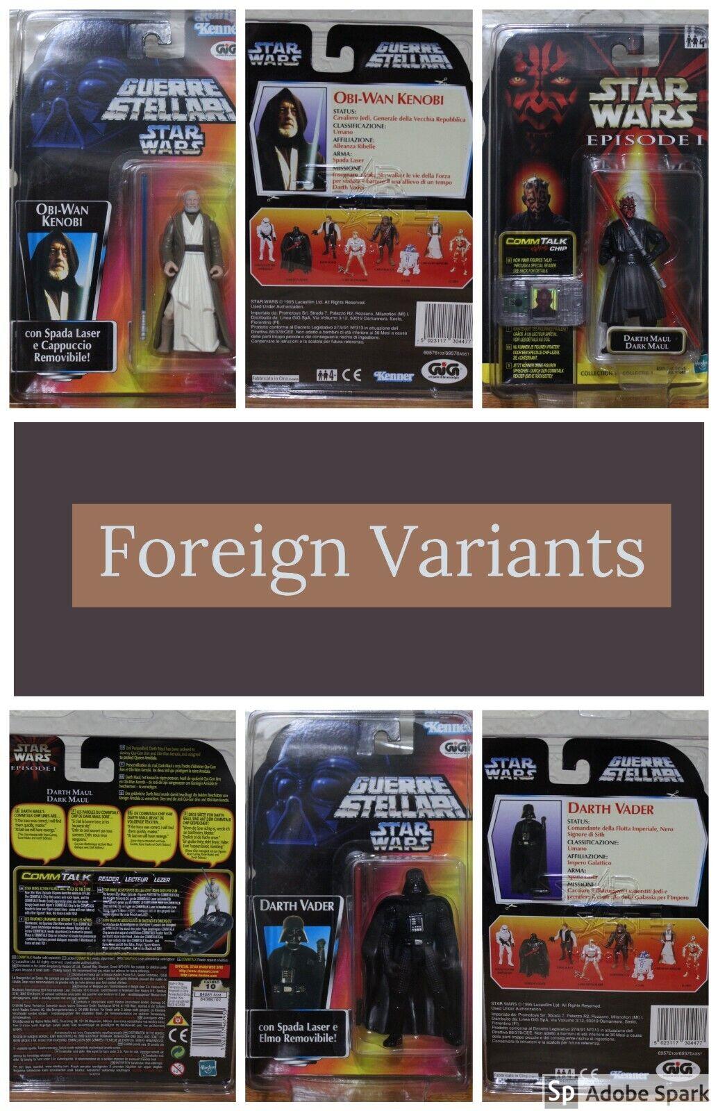HUGE Star Wars POTF POTF2 SAGA figures lot of NEW ON CARD w FREE CASES - 39 Figs