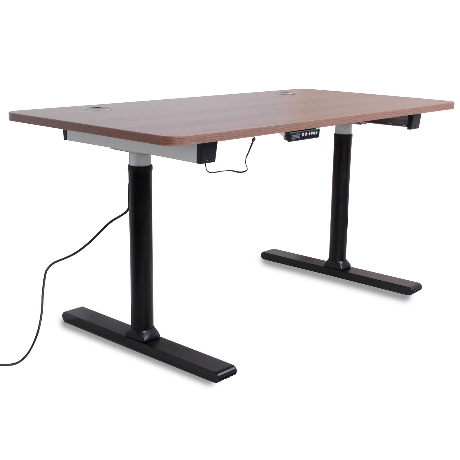Height adjustable home office computer pc sit stand for Standing desk at home
