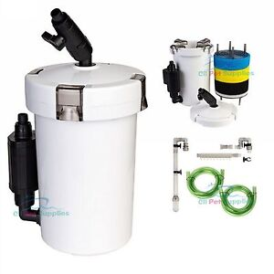 Mini-External-Canister-Filter-L-Table-Top-Nano-Fresh-Salt-Aquarium-SUNSUN-603B