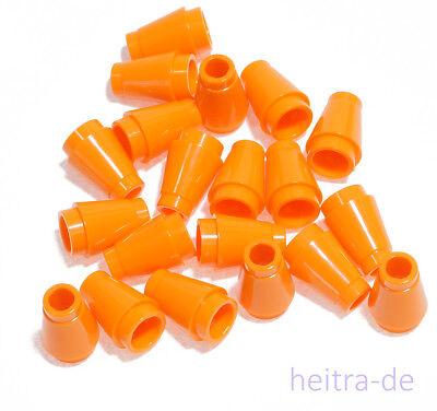 Kegelstein 1x1 weiss White Cone 20 x Kegel 4589b NEUWARE LEGO