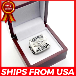 FROM-USA-FANTASY-FOOTBALL-Season-League-Trophy-Championship-2019-Ring-FFL-Gift